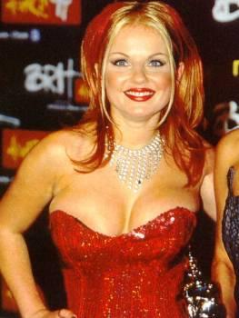Geri Halliwell Open Boob Show Hot Gorgeous Pic
