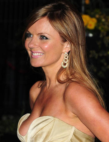 Geri Halliwell Sexy Cleavages Exposing Still