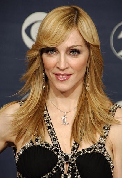 Madonna Brown Hair Sexy Look Still