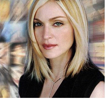 Madonna Cool Looking Still