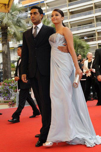 Sexiest Couple Aishwarya and Abhishek at 62nd Cannes Film Festival