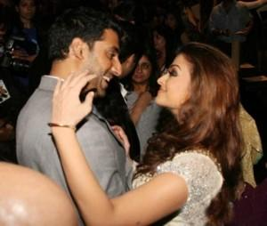 Aish and Abhi Dancing pic