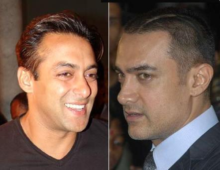 Salman And Aamir Khan Cool Photo