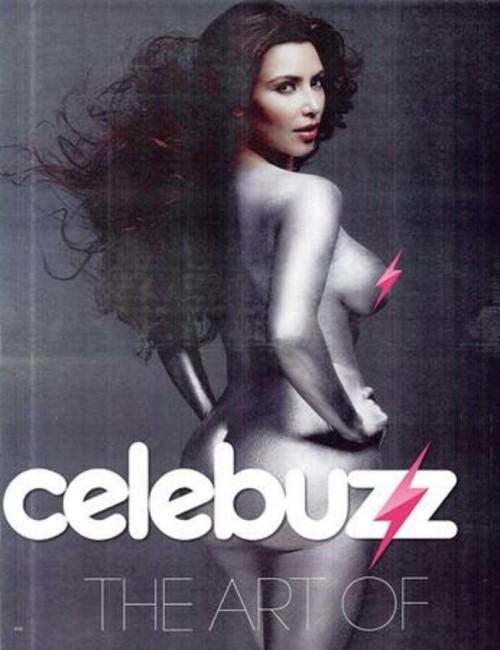 Neked Babe Kim Kardashian W Magazine Still