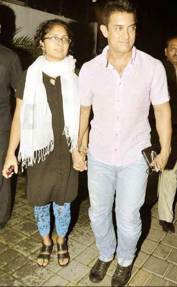Aamir Khan and Kiran Gorgeous Photo
