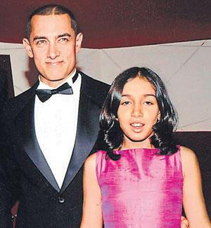 Aamir Khan With Daughter Ira