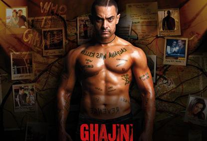 Aamir Khan Shirtless Glamour Pic In Ghajini