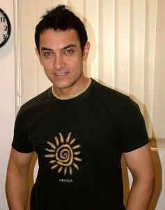 Chocolate Boy Aamir Khan Images In Black t Shirt
