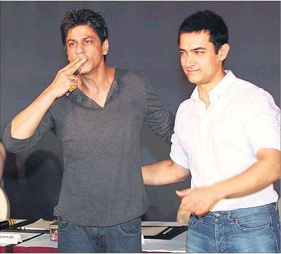 Srk and Aamir Khan latest Photo
