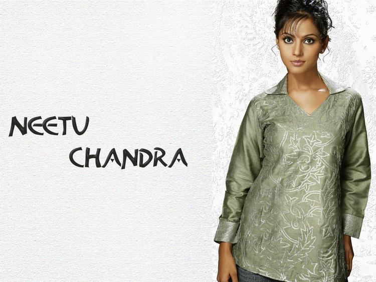 Neetu Chandra Nice And Cool Look Wallpaper