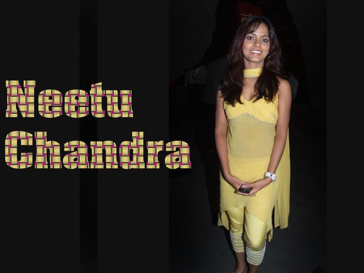 Neetu Chandra Yellow Dress Hot Wallpaper