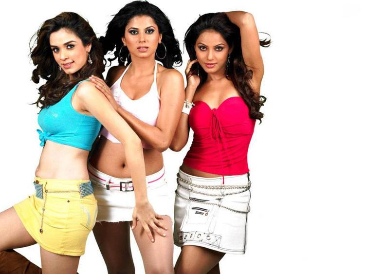 Neetu Chandra,Nargis Bagheri And Daisy Bopanna Hot Wallpaper