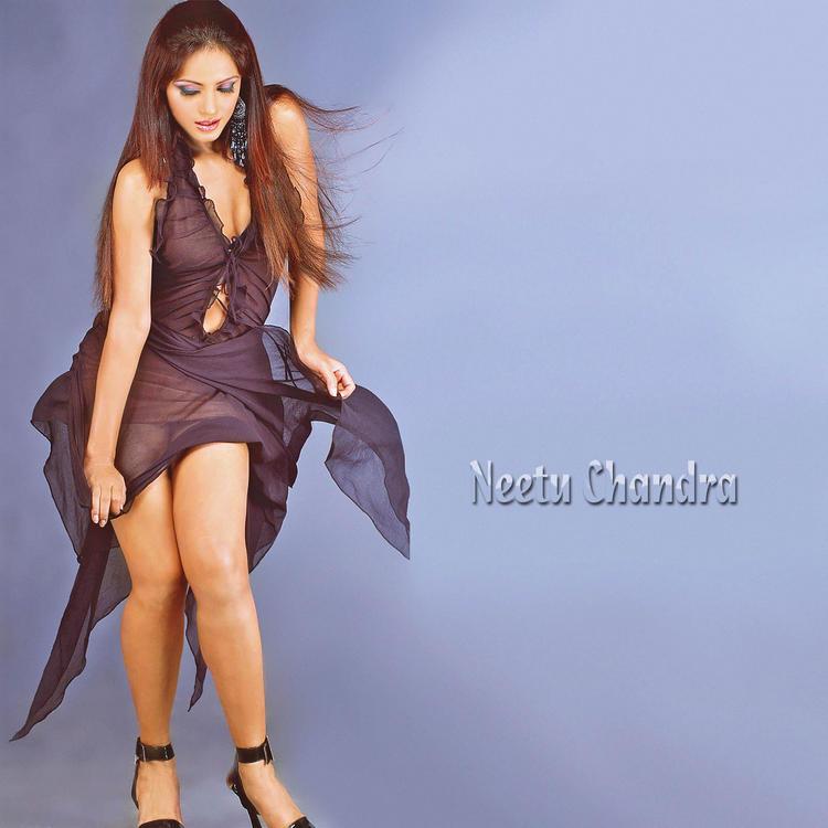 Sexy Neetu Chandra Milky Legs And Arms Expose Wallpaper