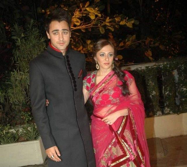 Imran Khan and Avantika Reception Photo