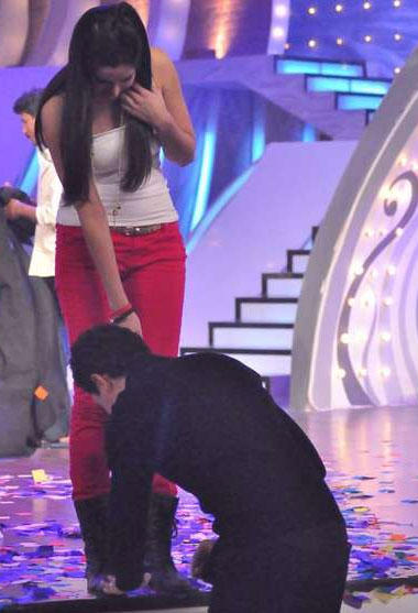 Katrina and Imran In Just Dance Star Plus Show