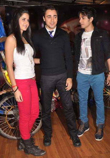 Katrina,Imran Khan and Ali Zafar Photo