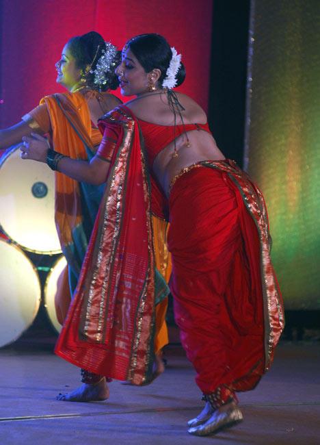 Vidya Hot Dancing Pic At Rang Sharda Auditorium