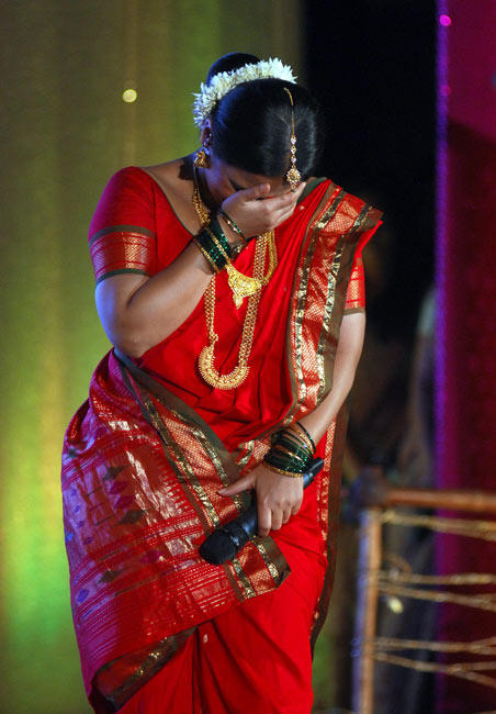 Vidya At Rang Sharda Auditorium In Bandra