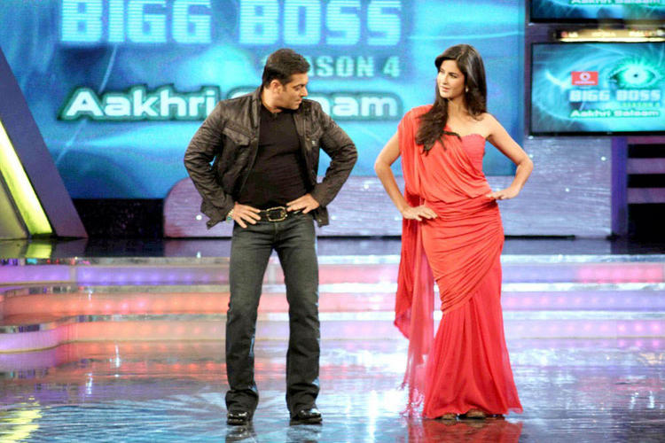 Salman With Katrina Kaif Hot Dancing Pic In Bigg Boss Season 4