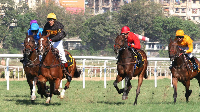 Salman Khan Rides A Horse At Hello Million Race In Mumbai