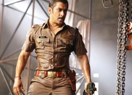 Salman Khan Serious Look In Dabangg