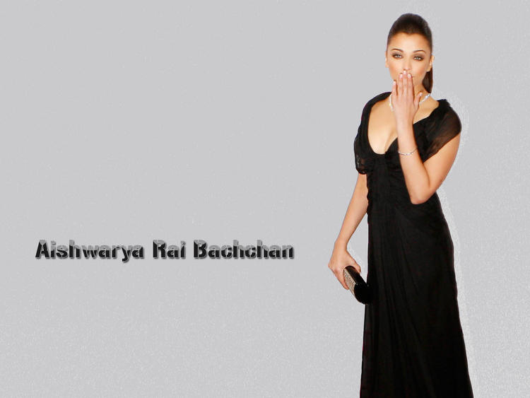 Aishwarya Rai Kissing Pose Wallpaper