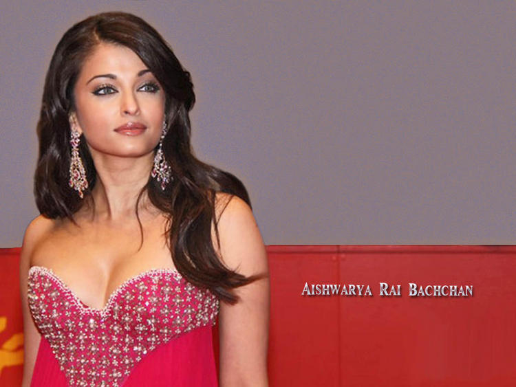 Aishwarya Rai Open Boob Show Hot Wallpaper