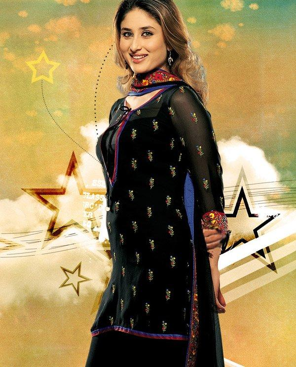 Kareena Kapoor  Simple Look In Salwar Kameez