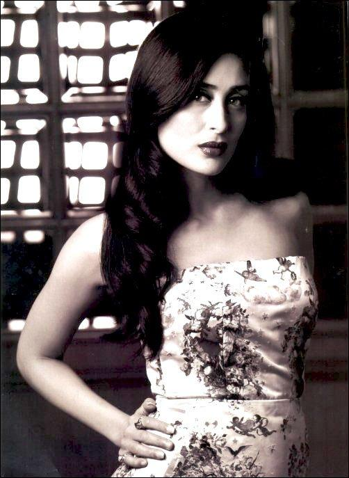 Kareena Kapoor  Strapless Dress Spicy Photo Shoot