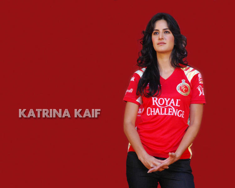 Katrina Kaif Royal Challenge Jorsey Wallpaper