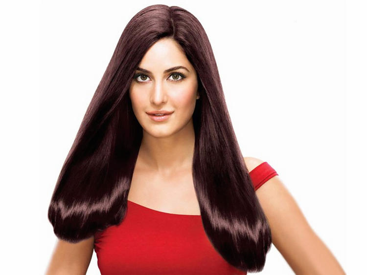 Katrina Kaif Shiny Silky Hair Wallpaper
