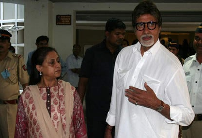 Amitabh Bachchan and Jaya At Elections