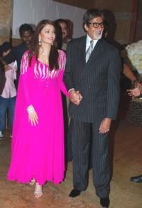Amitabh Bachchan Latest Pic With Aish