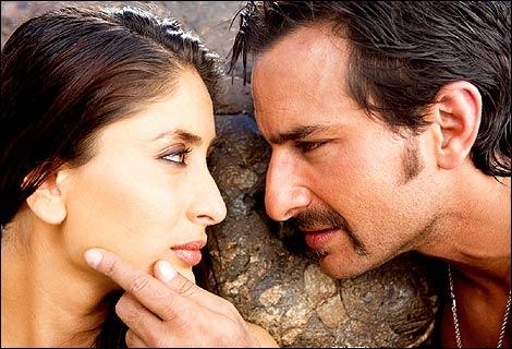 kareena and saif hot romance still in agent vinod
