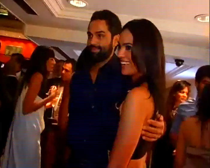 Abhay and Lara at A Party