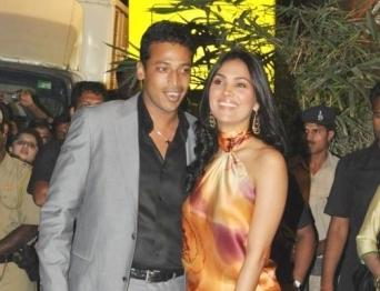 Mahesh Bhupathi and Lara Dutta  Photo