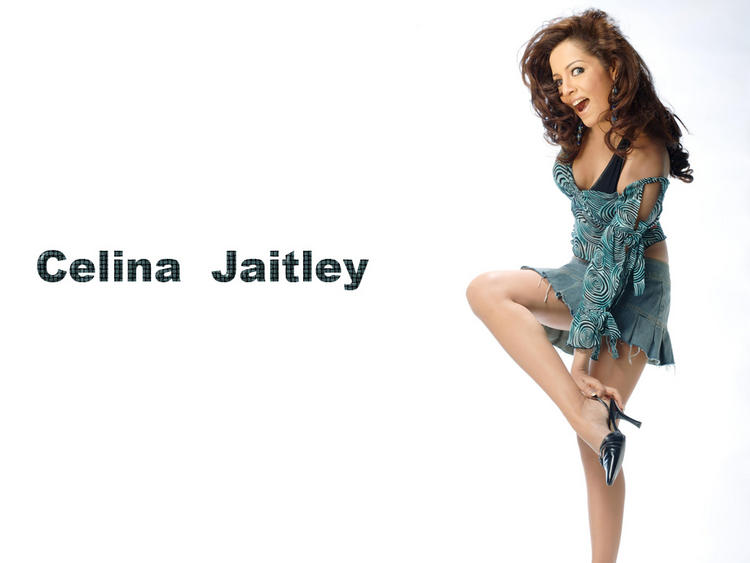 Celina Jaitley Cute Hot Wallpaper
