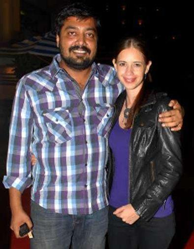 Anurag Kashyap and Kalki Koelchin Photo