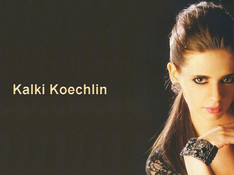 Kalki Koechlin Hot Look Wallpaper