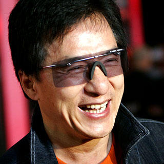Jackie Chan Cute Smile Stunning Pic