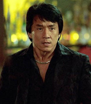Jackie Chan Shocking Face Look Still