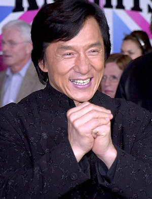 Jackie Chan Sweet Smiling Face Still