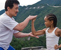 The Karate Kid Jaden Smith and Jackie Chan Photo
