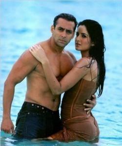 Salman Khan And Katrina Kaif Sexy Wet Pic