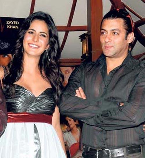 Salman Khan And Katrina Kaif Smiling Pic