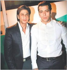 Salman Khan And Shahrukh Khan Nice Photo