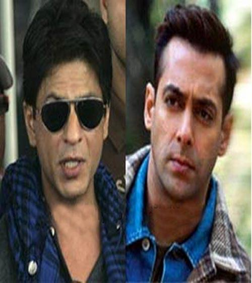 Salman Khan And Srk Photo