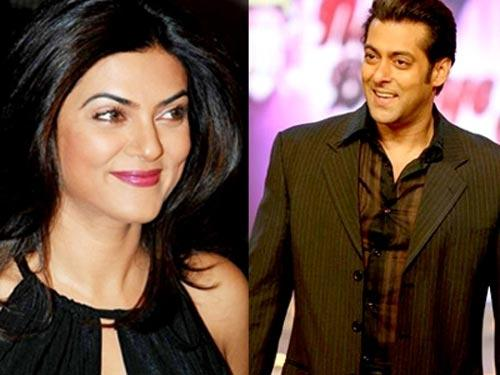 Sushmita Sen And Salman Khan Photo