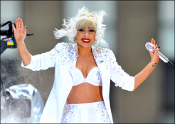 Rock Star Lady Gaga Photo