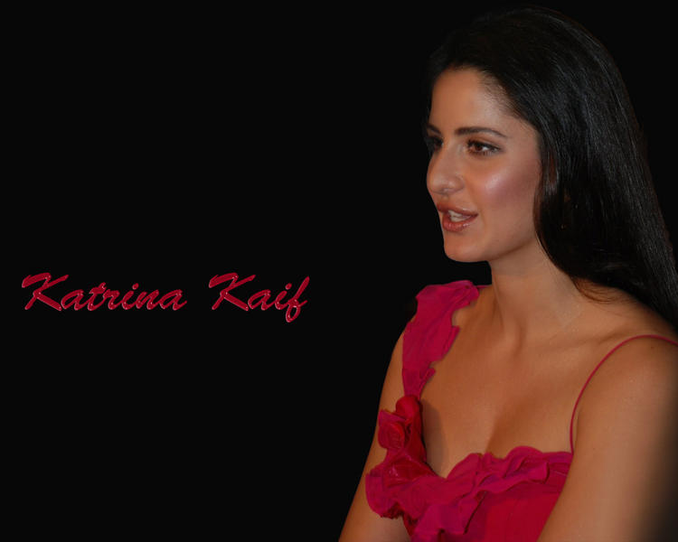 Katrina Kaif Deep Cleavages Exposing Wallpaper